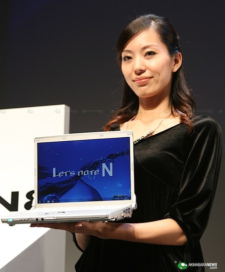 ноутбуки Panasonic Let's Note CF-N8 и CF-S8