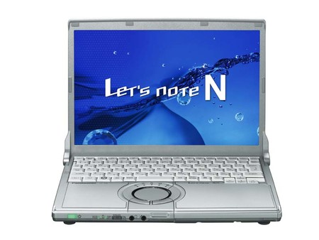 Ноутбуки Panasonic Let's Note N8