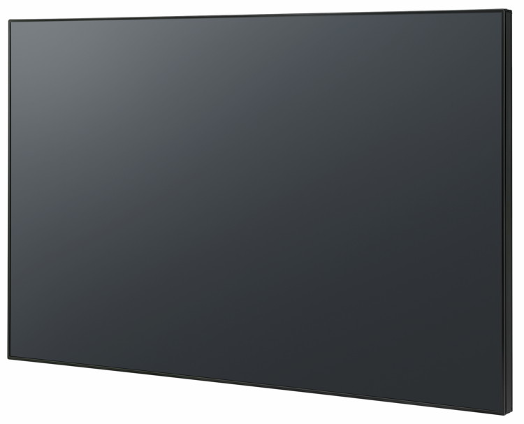 Профессиональная LED LCD панель Panasonic TH-55SF1HW - вид сбоку