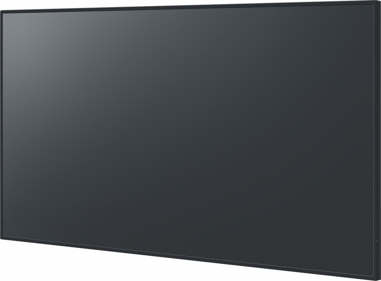 Профессиональная LED LCD панель Panasonic TH-86SQ1HW - вид сбоку