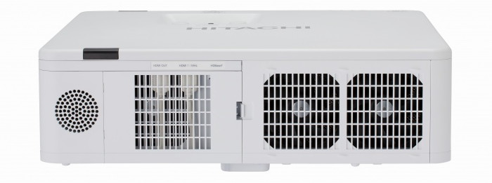 Проектор Hitachi LP-WX3500 / LP-WU3500 - вид сбоку