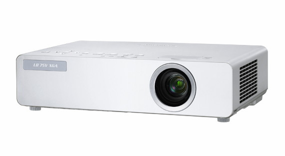 Проектор Panasonic PT-LB75VE - вид спереди