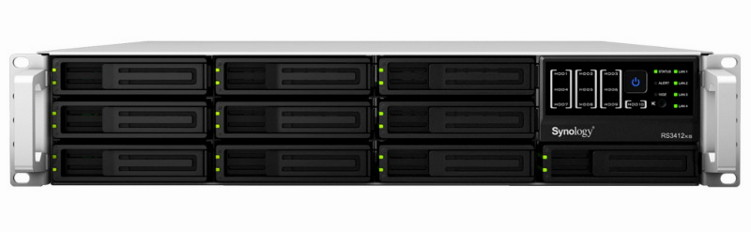 ���������������� 10-�� �������� ������� ���������� �������  Rack  2U Synology Rack Station  RS3412xs - ��� �������